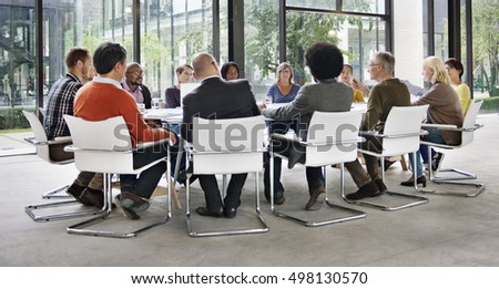 Business People Meeting Conference Corporate Concept