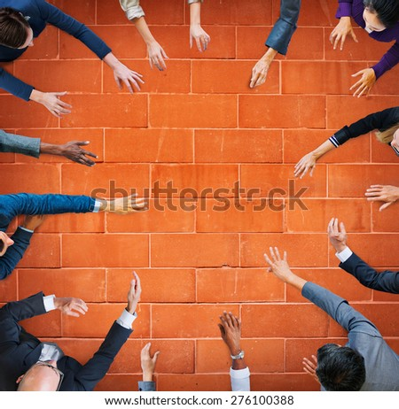 Business People Meeting Working Team Teamwork Concept - stock photo