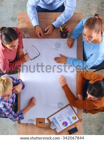 Business People on a Meeting  - stock photo