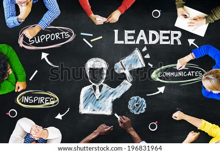 Business People Planning Leadership - stock photo