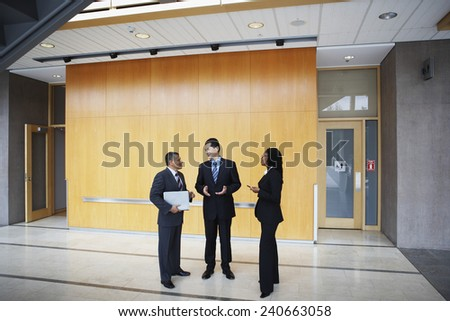 Business people Talking - stock photo