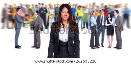 Business people team. Success and education background. - stock photo