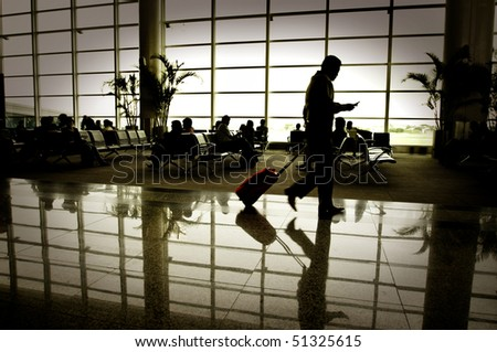 Business people traveling - stock photo