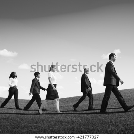 People Walking In Park Stock Images, Royalty-Free Images ...