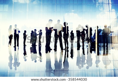 Business People Working Working Corporate Concept - stock photo