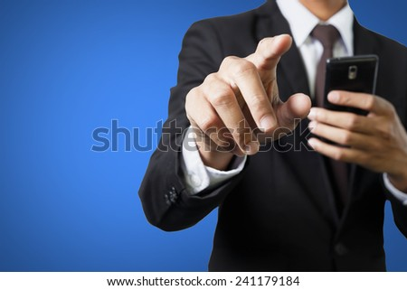 Business person working  - stock photo