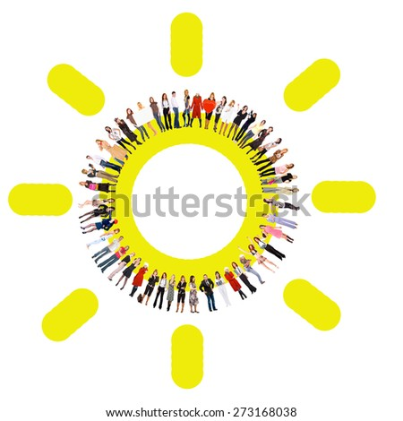 Business Picture People Diversity  - stock photo