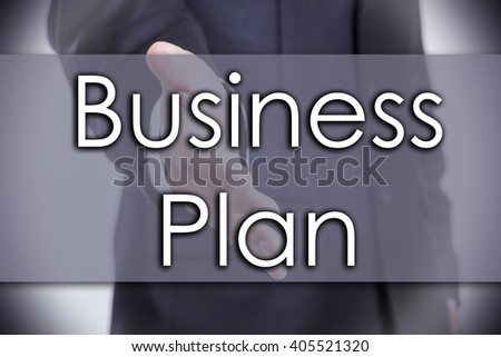 Business Plan - business concept with text - horizontal image