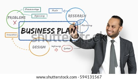 Business Plan Graph Analysis Strategy Graphic