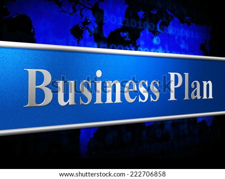 Business Plan Showing Proposition Formula And System - stock photo