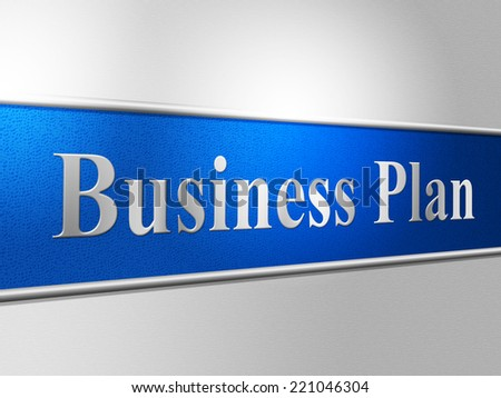 Business Plan Showing Scenario Proposition And Method