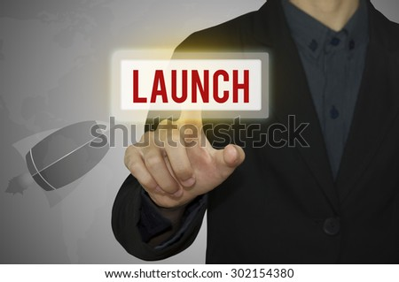 Business point launch keyword. - stock photo