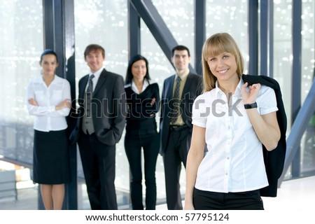 Business portrait - stock photo