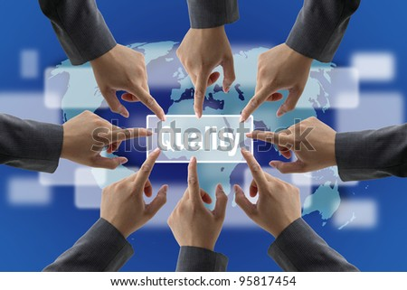 Business Quality Teamwork Concept - stock photo