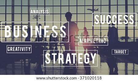 Business Startup Company Organization Development Concept - stock photo
