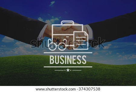 Business Startup Company Organization Development Concept - stock photo