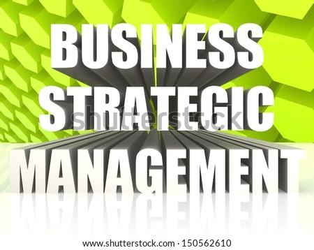 Business Strategic Management - stock photo