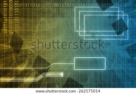 Business Strategy for a Global Corporate Company - stock photo
