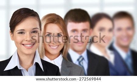 Business. Strong Business Team - stock photo