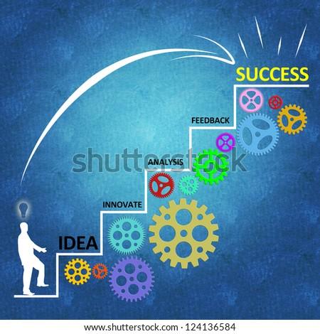 Business success concept - stock photo