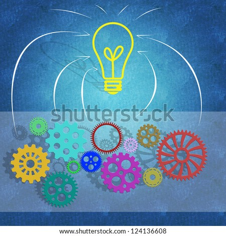 Business success concept and teamwork - stock photo