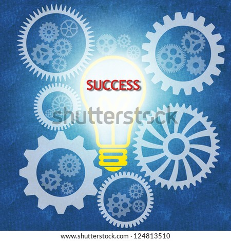 Business success concept and teamwork