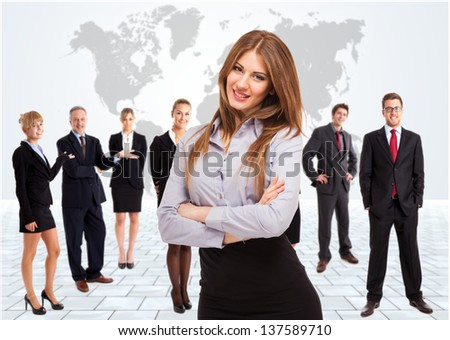 Business team - stock photo