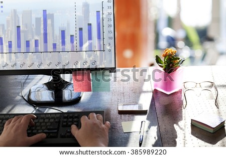 Business Team Brainstorming . - stock photo