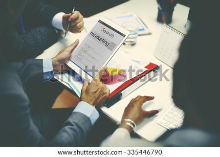 Business Team Meeting Organization Corporate Concept - stock photo