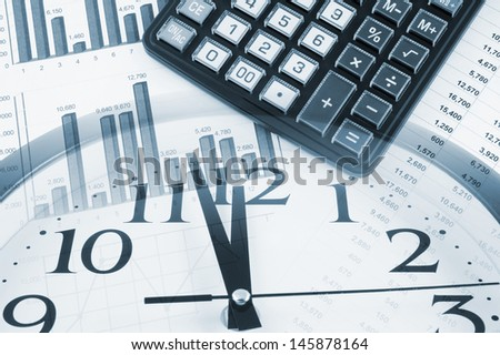 Business time concept  - stock photo
