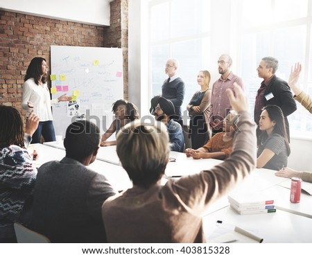 Business Travel Meeting Discussion Team Concept - stock photo