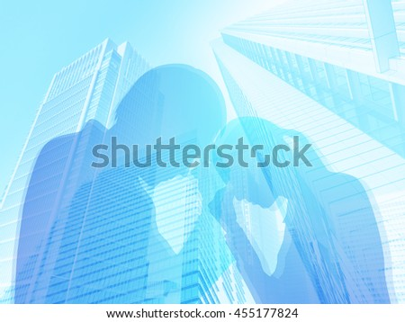 business trouble - stock photo