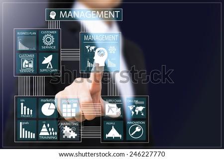 business woman  - stock photo