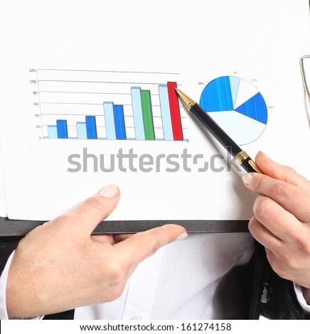 business woman in her 40s - stock photo