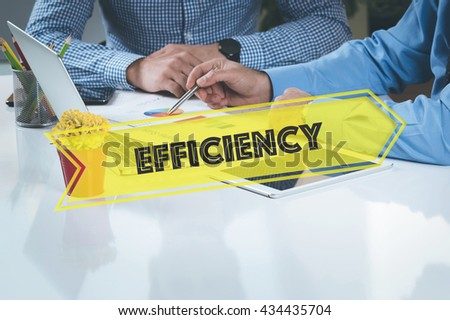 BUSINESS WORKING OFFICE Efficiency TEAMWORK BRAINSTORMING CONCEPT - stock photo