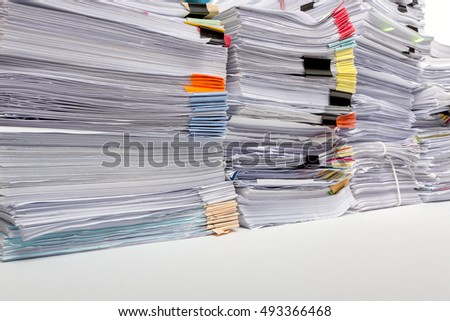 Term papers on unfinished business
