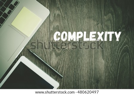 BUSINESS WORKPLACE TECHNOLOGY OFFICE COMPLEXITY CONCEPT