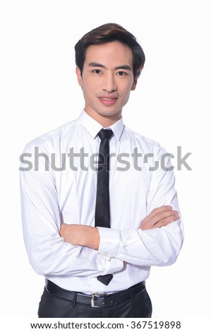 Business young man of Asian, portrait  - stock photo