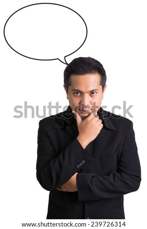 businessman and concept - stock photo