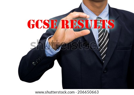 Businessman and GCSE RESULTS