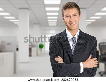 Businessman, Business, Business Person. - stock photo
