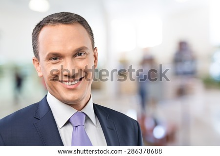 Businessman, CEO, Mature Adult. - stock photo