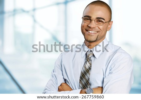 Businessman. Confident Professional - stock photo