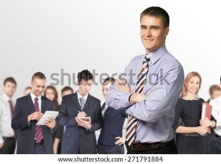 Businessman. Confident Professional - stock photo