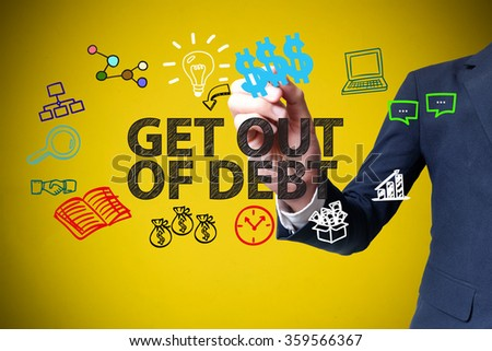 how to get out of business debt