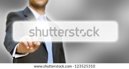 Businessman idea concept - stock photo