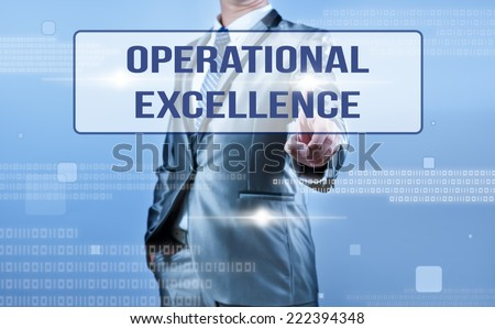 Operational excellence stock images royalty free images vectors businessman making decision on oeprational excellence altavistaventures Images