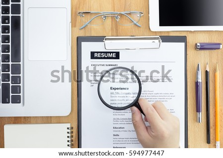 Resume Information Stock Images RoyaltyFree Images Vectors