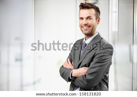Businessman portrait - stock photo
