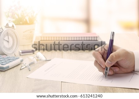 sending resignation letter steps